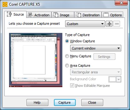 Corel CAPTURE